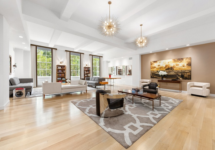 Luxurious Floor-Through 4 Bedroom Overlooking Madison Square Park
